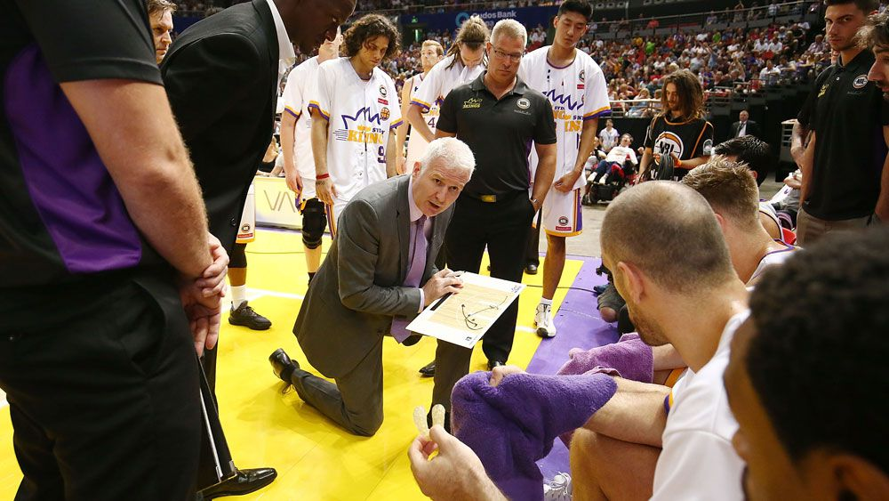 Sydney Kings coach Andrew Gaze has a simple plan for his team. (Getty Images)