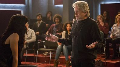 Michael Douglas as Sandy Kominsky