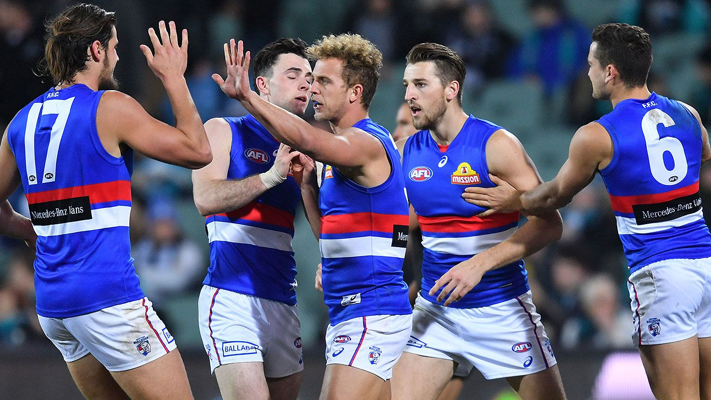 Mitch Wallis recommits to Western Bulldogs on a three-year deal