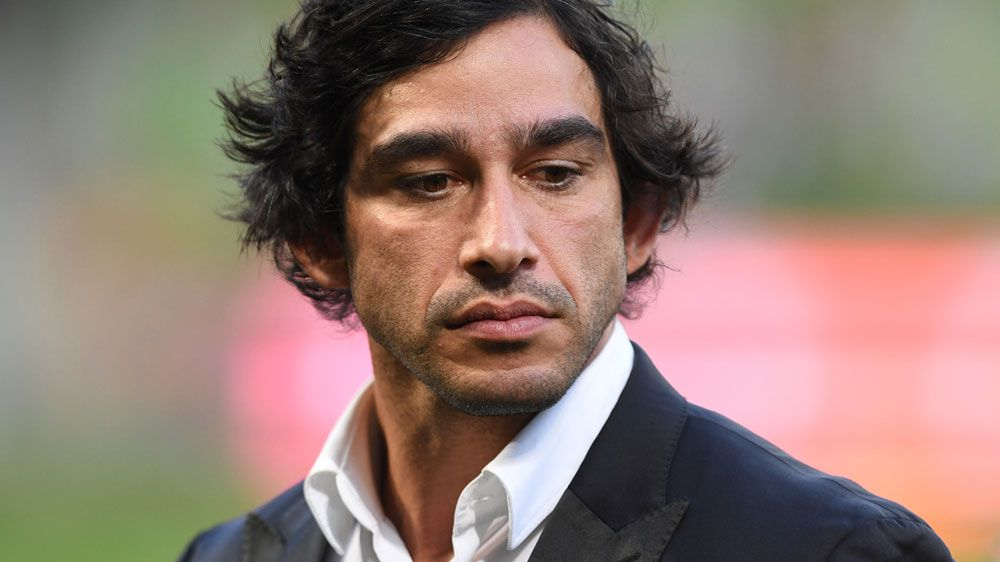 Johnathan Thurston drops F-bomb at Rugby League World Cup pre-game ceremony