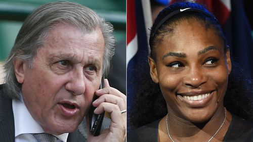 Romanian tennis great Ilie Nastase sorry for Serena Williams 'chocolate with milk' remarks