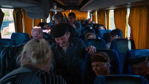 Refugees from Nagorno-Karabakh
