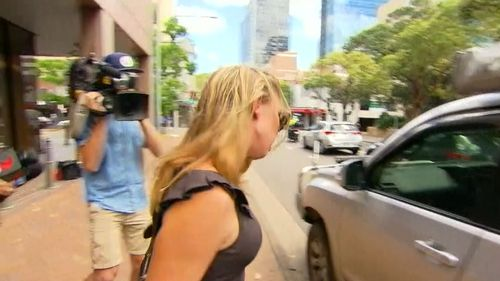 Moorhouse's wife attended court in support.
