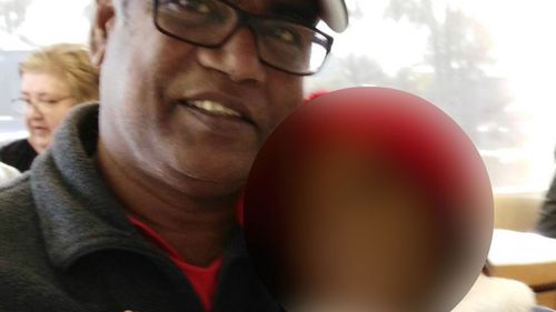 Roger Singaravelu, a dedicated nurse, was injured while sleeping at his Mill Park home. (Facebook)