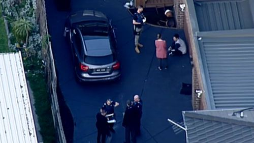 Police are seeking a suspect after a man was stabbed in south-east Melbourne.