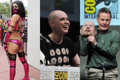 """Check out the highlights from 2013's Comic-Con! From awkward celeb-cosplay attempts to trailer reveals, red carpet and much, much more. <br/><br/>Flick through the slideshow to find out what you missed and stay tuned for the hotly anticipated trailer reveals at the end. <b>Hint: <i>Spiderman</i> and <i>Hunger Games</i> fans will not be disappointed!</b><br/><br/>(<i>Author: <b><a target=""""_blank"""" href=""""https://twitter.com/yazberries"""">Yasmin Vought</a></b></i>)"""