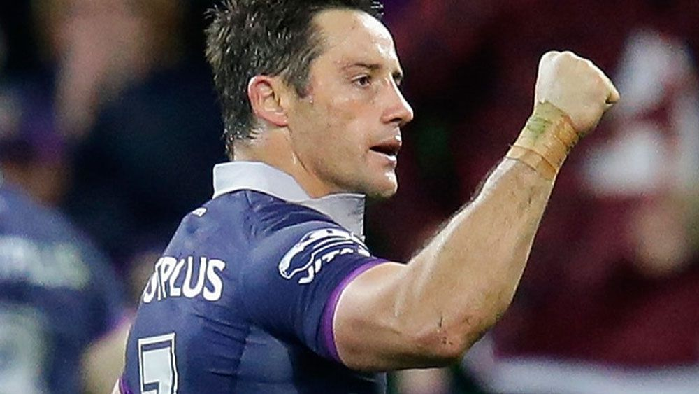 Melbourne Storm in talks with Cooper Cronk to join coaching ranks