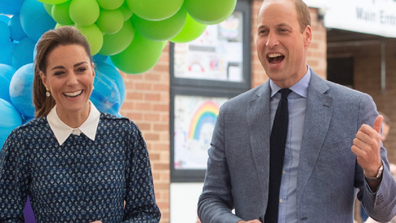 The royal couple attended the event to thank healthcare workers for their efforts during the coronavirus crisis