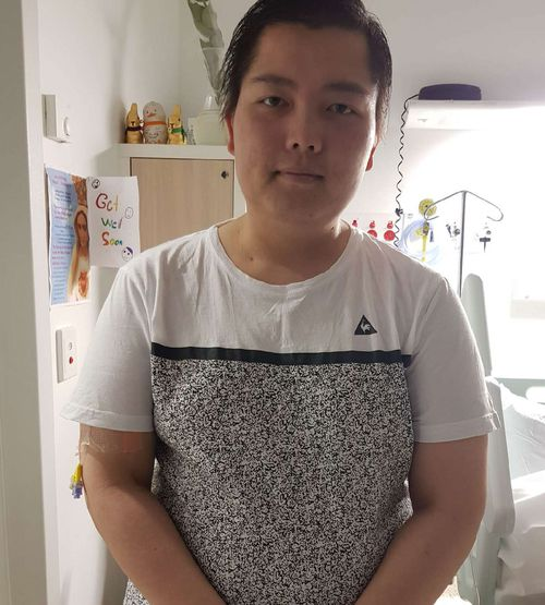 Joe Tran has already spent over $80,000 on the drug Keytruda, which he has been told by doctors is having an impact on his stage four cancer.