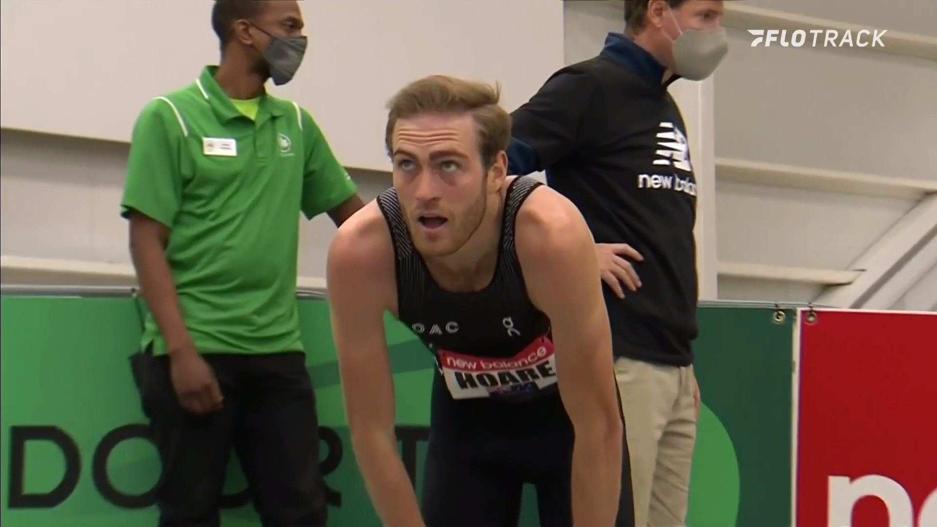 Australian Oliver Hoare announces himself on world stage with one of the fastest 1500m times ever