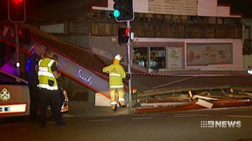 VIDEO: Man 'in jocks' helped police track down runaway Brisbane driver