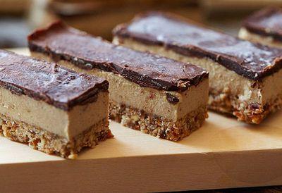 """<a href=""""http://kitchen.nine.com.au/2016/05/05/11/23/brooke-merediths-raw-vegan-caramel-slice"""" target=""""_top"""">Brooke Meredith's raw vegan caramel slice</a><br /> <br /> *Contains nuts"""