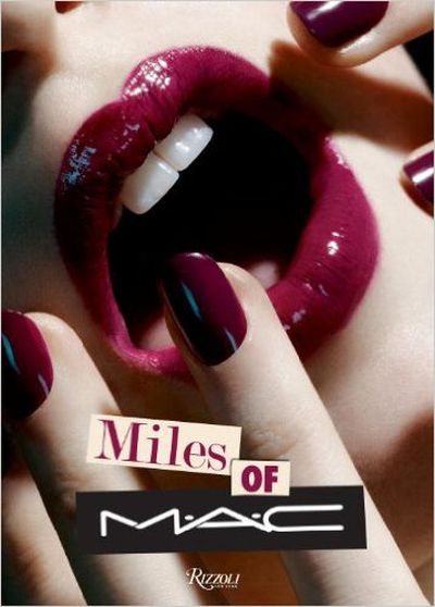 "<p><em><a href=""http://www.amazon.com/Miles-MAC-James-Gager/dp/0847843513"" target=""_blank"">Miles Of MAC</a></em><a href=""http://www.amazon.com/Miles-MAC-James-Gager/dp/0847843513"" target=""_blank""> by James Gagner and Miles Aldridge</a></p>"