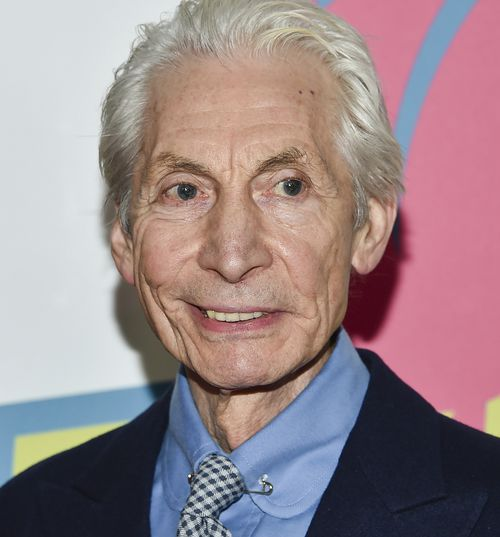 """Rolling Stones Drummer Charlie Watts attends The Rolling Stones """"Exhibitionism"""" exhibit opening night party on Nov. 15, 2016, in New York."""
