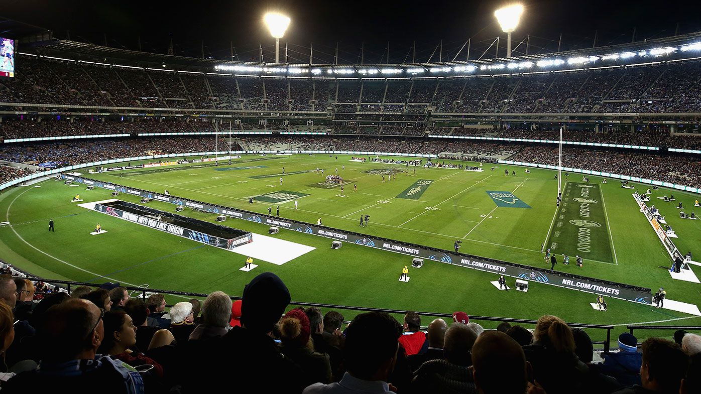Victoria 'talking to the NRL' about grand final