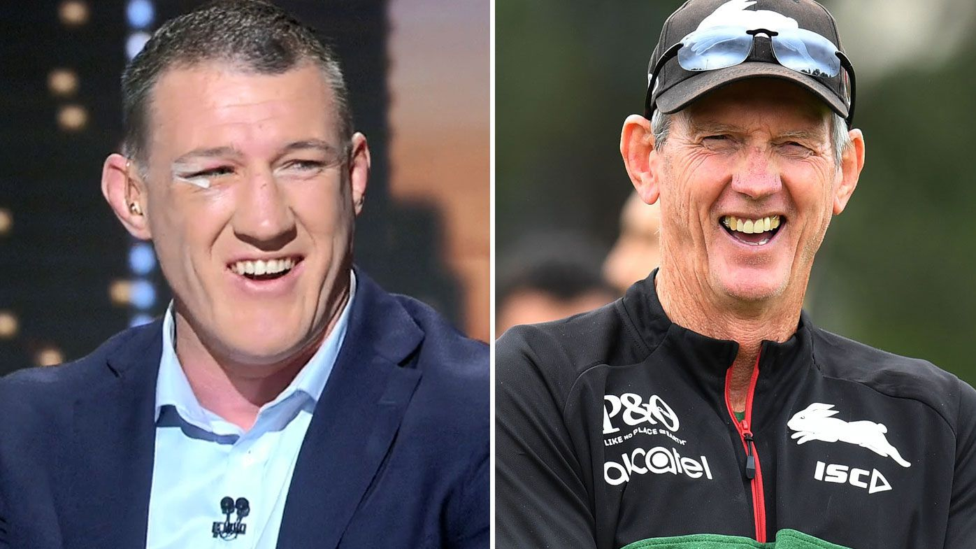 'Everyone sort of froze a bit':  Paul Gallen recalls time he was stitched up by Wayne Bennett