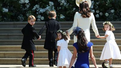 Prince George at Harry and Meghan's Royal Wedding, May 2018