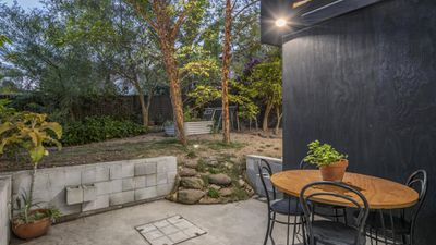 After - outdoor area