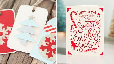 Cricut Joy project gift tags cards
