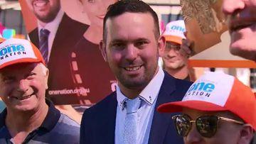 One Nation candidate for Longman Matthew Stephen. (9NEWS)