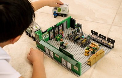 Woolworths Bricks collectible lets customers build their own sustainable supermarket