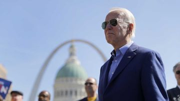 Joe Biden is now well ahead of Bernie Sanders in the delegate count.