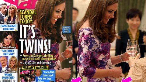 Scoop or scandal? Magazine accused of faking Duchess Kate's 'baby bump'