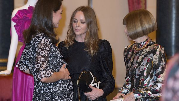 Kate Middleton, Duchess of Cambridge at the Commonwelth Fashion Exchange reception