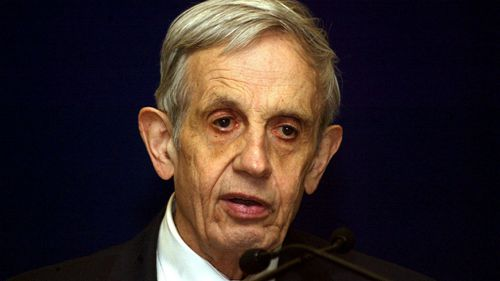 Nobel prize-winning mathematician John Nash. (AAP)