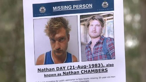 Yesterday, the missing persons squad found a body, believed to be Day's, at another Wangaratta property just after 4pm.