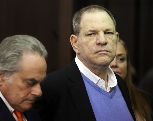 Weinstein has denied having non-consensual sex with anyone. (AAP)