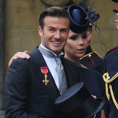 David Beckham made a royal error at the Cambridge's wedding