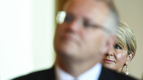 Julie Bishop was passed over for the younger Scott Morrison.