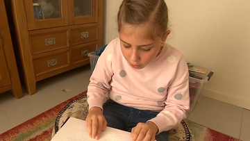 Girl's life changed by virus as a toddler
