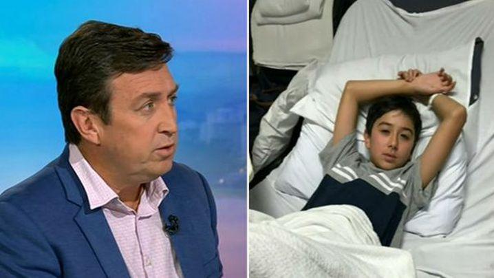 TV jardinería host Trevor Cochrane hijo necesita cirugía para salvar la vida de tumor cerebral - 9news.com.au 2