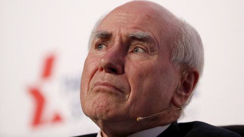 John Howard said he backed the No campaign, but respected the arguments of the Yes campaign.