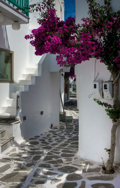 Swap Santorini for Paros
