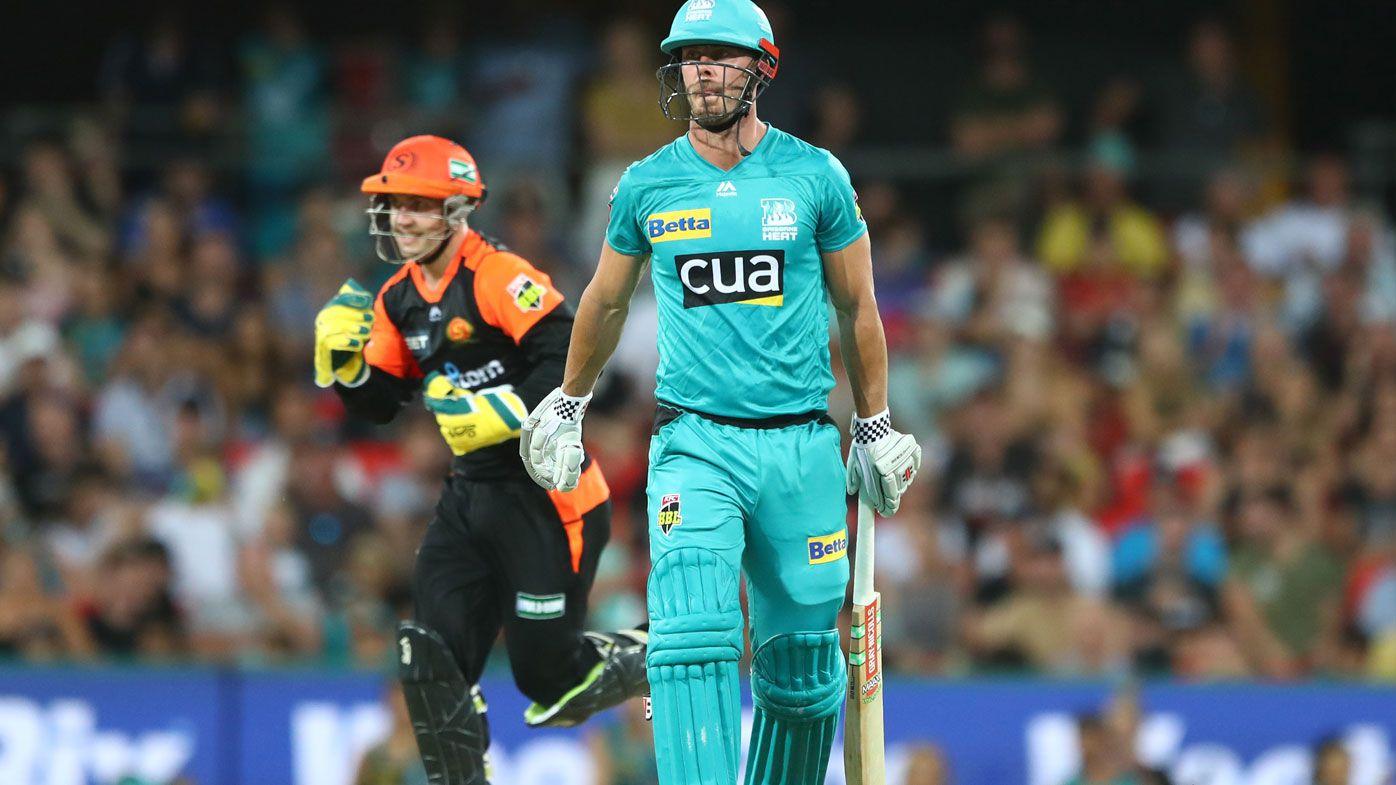 Brisbane Heat fall to Scorchers