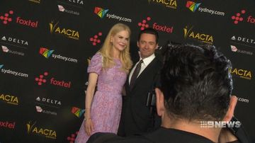Stars walk red carpet for AACTA's
