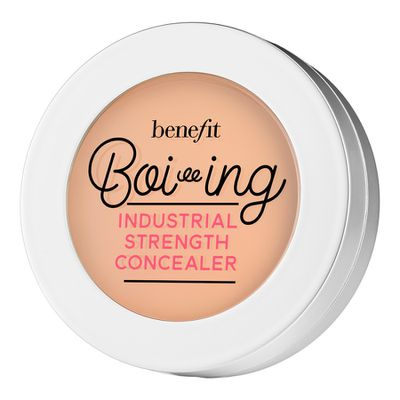 "<a href=""https://www.sephora.com.au/products/benefit-cosmetics-boi-ing-industrial-strength-concealer/v/02-medium"" target=""_blank"">Benefit Boi-ing Industrial Strength Concealer, $34.</a> Why? Sleep deprivation brings with it the delightful grey hue of under-eye circles. Nix 'em with this."