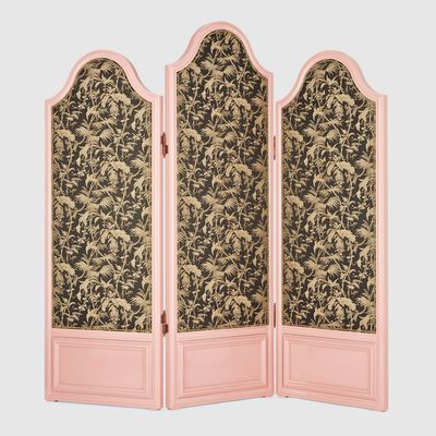 Tropical three-panel screen, $41,435