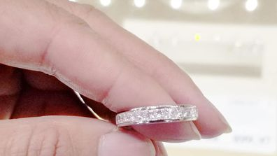 The shocking brand a woman wants to swap her Tiffany ring for