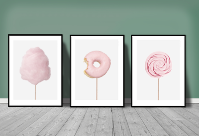 "<a href=""https://norsu.com.au/products/kreativitum-donut-print-various-sizes"" target=""_blank"" draggable=""false"">Kreativitum Donut Print, from $59.</a>"