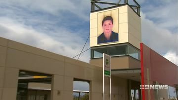 Perth 'Faces of the Community' art removed over safety concerns