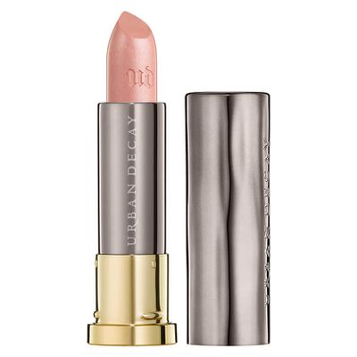 """<a href=""""http://www.mecca.com.au/urban-decay/vice-lipstick/V-024482.html?cgpath=makeup-lips-lipstick"""" target=""""_blank"""" draggable=""""false"""">Urban Decay Vice Lipstick in Gubby, $28<br> </a>"""