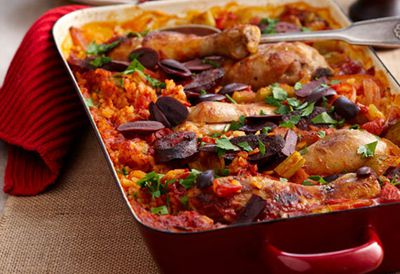 Tuesday: Baked chicken paella