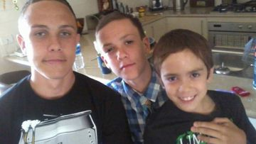 From left to right: Zane, Isiah and Zeek Carney.