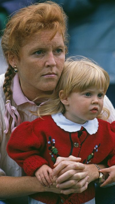 Princess Beatrice with her mother, Sarah, Duchess of York