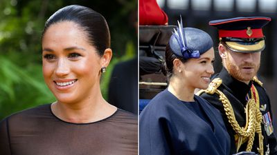 Meghan's versatile earrings