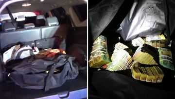 Detectives pulled over the vehicle as part of an investigation into organised crime.